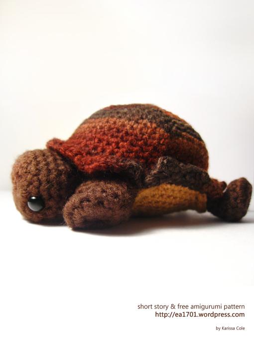 Turtle Amigurumi ~ Ea1701