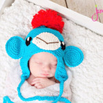 Not Another Sock Monkey Hat ~ Jenny and Teddy