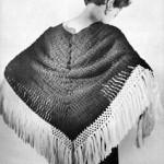 Castanet Shawl ~ Free Vintage Crochet
