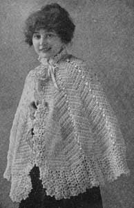 Cape by Free Vintage Crochet