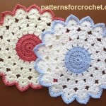 Round Table Mat ~ Patterns For Crochet