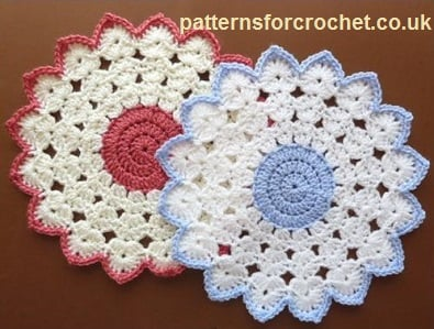 Round Table Mat by Crochet 'n' Create
