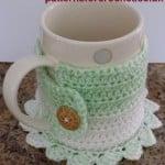 Coaster Mug Cosy ~ Patterns For Crochet