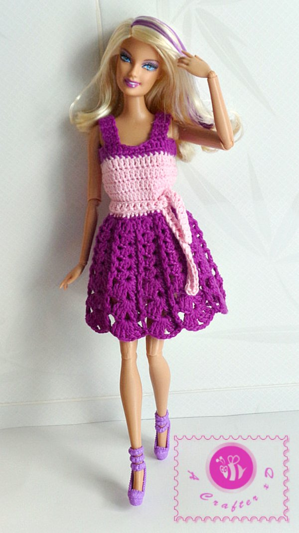 Barbie Tank Dress by Maz Kwok's Designs