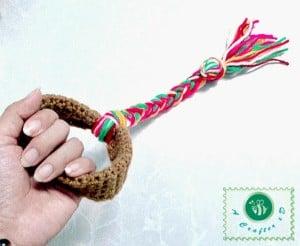 Crochet Dog Toy by Maz Kwok's Designs