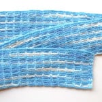 Crocheted Chain Stitch Scarf ~ My Recycled Bags
