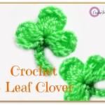 Crochet 3 Leaf Clover by Erangi Udeshika of Crochet For You