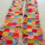 Little Squares Scarf ~ Do You Mind if I Knit