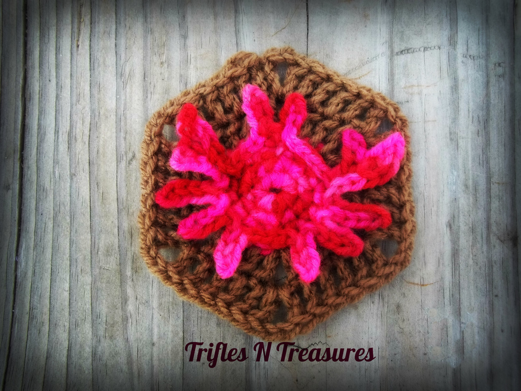 Crab Hexi by Tera Kulling of Trifles N Treasures