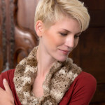 Flowered Cowl by Michele Wilcox for Red Heart