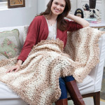 Waverly Place Throw ~ Red Heart