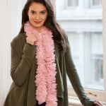 Full of Lace Crochet Scarf by Bendy Carter for Red Heart