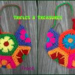 Flower Child Bag by Tera Kulling of Trifles N Treasures