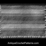 Vintage Afghan ~ Antique Crochet Patterns