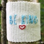 Be Kind Yarn Bomb ~ Repeat Crafter Me