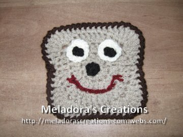 Bread Motif by Meladora's Creations