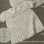 Peggy Dress ~ Antique Crochet Patterns