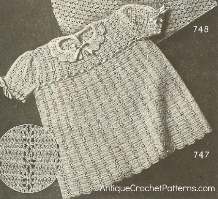 Peggy Dress ~ Antique Crochet Patterns