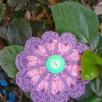 Funky Flower Fridays Week #8 ~ Jennifer Gregory - Niftynnifer's Crochet & Crafts