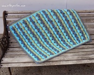 Baby Blue Blanket ~ Jennifer Gregory - Niftynnifer's Crochet & Crafts