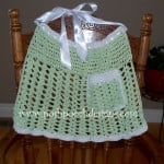 Sparkle Celery Apron by Sara Sach of Posh Pooch Designs