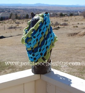 Linked-Up Cowl by Sara Sach of Posh Pooch Designs