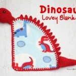 Dinosaur Lovey Blanket ~ Repeat Crafter Me