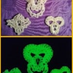 Spooky Glow in the Dark Charms by Crochet is the Way