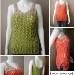 Breezy Shell Tank by Cre8tion Crochet