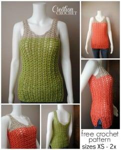 Breezy Shell Tank ~ Cre8tion Crochet