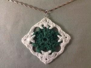 Celtic Knot Shamrock Pendant by Crochet is the Way
