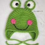 Crochet Frog Hat ~ Repeat Crafter Me