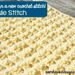 Granule Stitch and Bumpy Textured Square by Oombawka Design