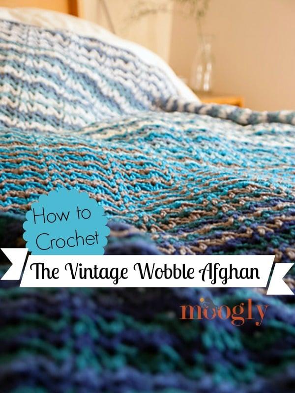 Vintage Wobble Afghan Tutorial by Moogly