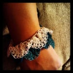 Chiq Crocodile Cuff by Crochet Chiq