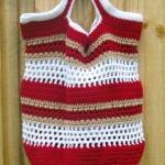 Fun  in the Sun Crochet Beach Bag by Kathy Lashley of ELK Studio