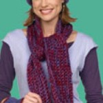 Crochet Scarf, Hat and Wristlets ~ Michele Thompson - Red Heart