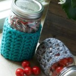 Crochet Jar Cozies ~ Brenda Bourg - Red Heart