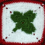 Lucky Clover Granny Square ~ Free Patterns By H