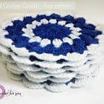 Nil Mal Crochet Coaster ~ Erangi Udeshika – Crochet For You