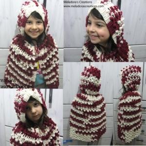 Red Riding Hood - Crochet Cape and Hood ~ Meladora's Creations
