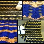 Sports Team Afghan and Baby Blanket by Crochet is the Way