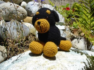 Rottweiler Amigurumi by Free Patterns By H