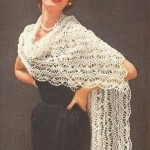Crochet Shawl ~ Antique Crochet Patterns