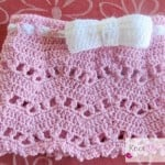 Little Bow Skirt by Knot Your Nana's Crochet