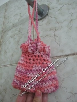 Crocheted Soap Saver by Meladora's Creations