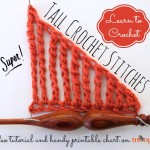 Double, Triple, Quadruple, and Beyond: Tall Crochet Stitches! ~ Moogly