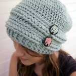 Ups and Downs Crochet Slouchy Beanie ~ Moogly