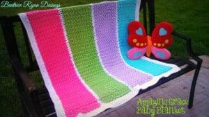 Amazing Grace Baby Blanket ~ Beatrice Ryan Designs