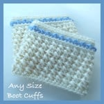 Any Size Boot Cuffs ~ CrochetN'Crafts